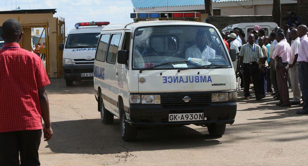 Ambulance in Kenya (File)