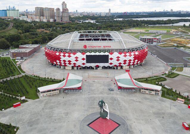 Otkrytiye Arena Stadium in Moscow