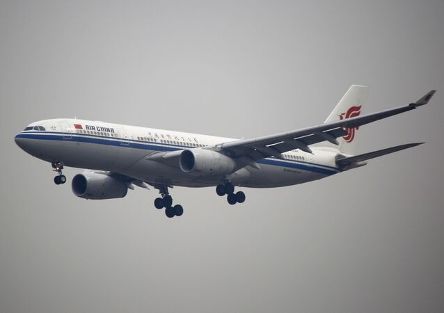 An Air China plane flies to Beijing Capital International Airport in Beijing, China (File)