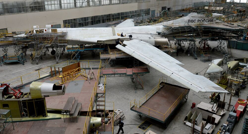 Overhaul of Tu-160 planes at Kazan Aircraft Plant