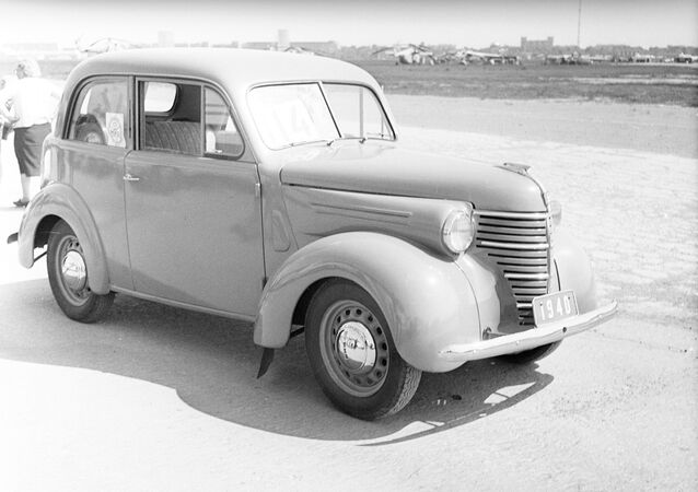 First Soviet mass produced subcompact car KIM-10