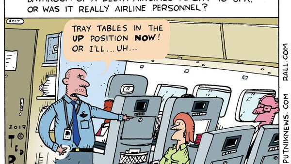 Delta Airlines Gun Cartoon - Sputnik International