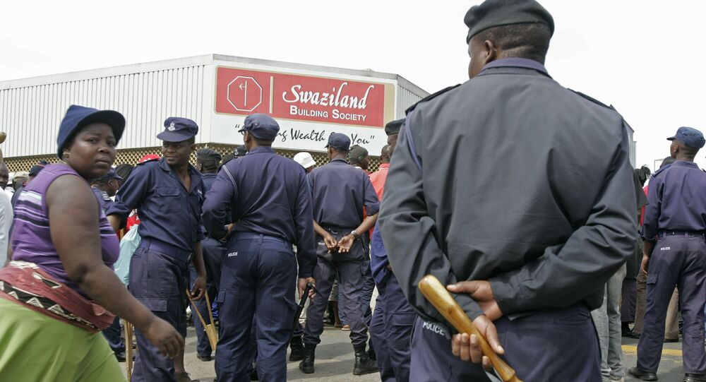 Swaziland troops (File)