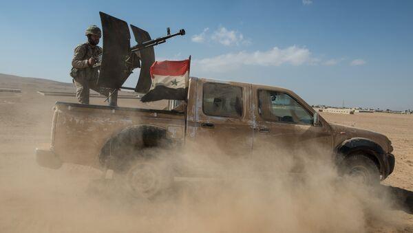 A truck of the Syrian Arab Army (SAA). (File) - Sputnik International