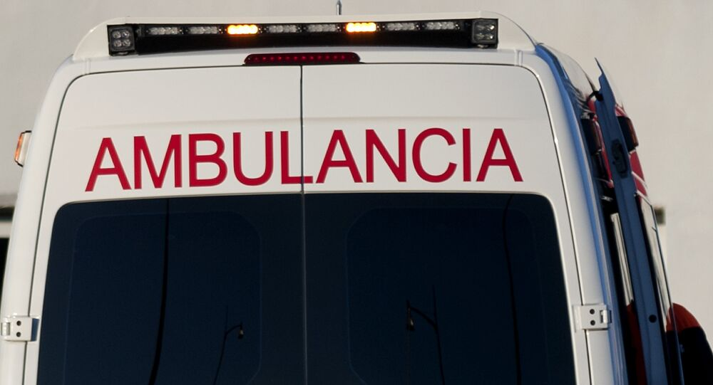 Ambulance in Spain. (File)