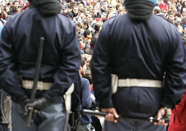 Italian policemen. (File)