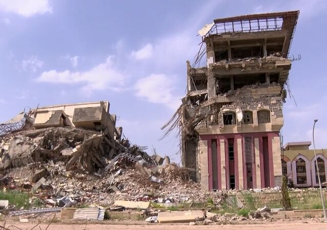 Mosul University Library Left In Ruins