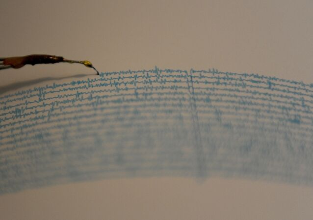 View of a seismograph. (File)