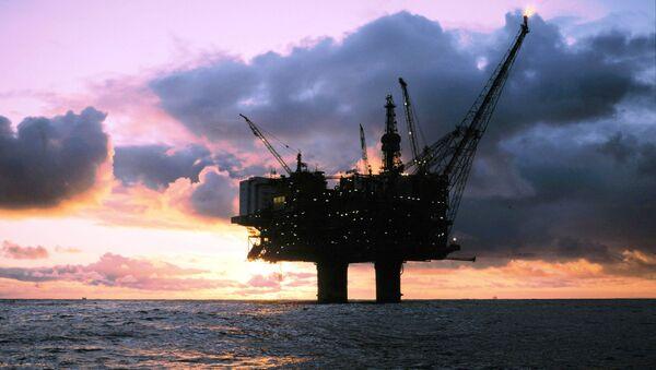 Statfjord-A offshore oil platform - Sputnik International