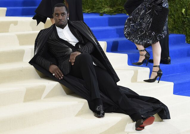 Sean Combs, a.k.a. Puff Daddy or Diddy at the Met Gala in New York in 2017.