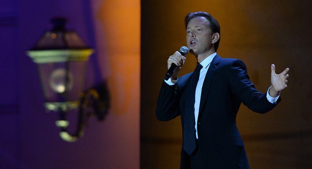 Singer Oleg Pogudin. (File)