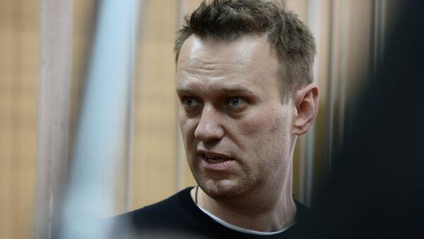 Court hears unauthorized rally case against Alexei Navalny - Sputnik International