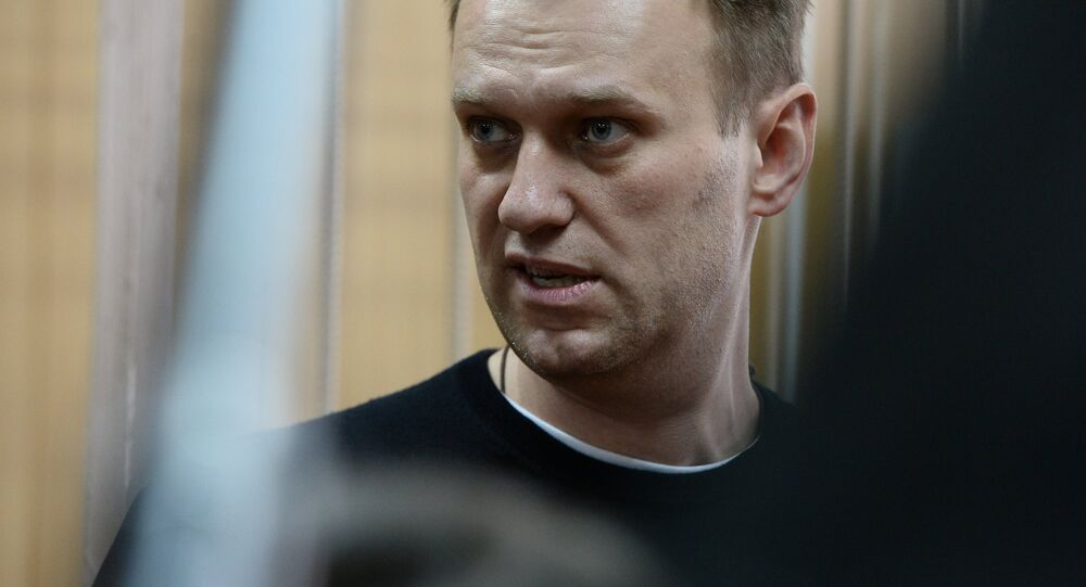 Court hears unauthorized rally case against Alexei Navalny