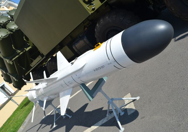 The Kh-35UE tactical cruise missile