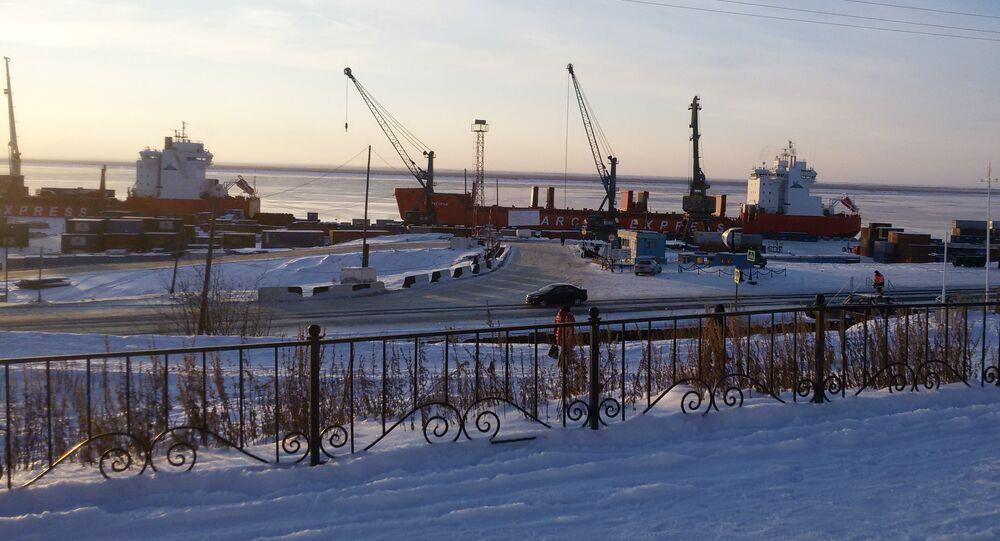 Port of Dudinka