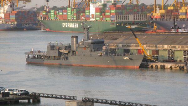 Offshore Patrol Vessel SLNS Sayura - Sputnik International