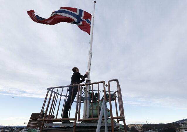 Norwegian flag (File)