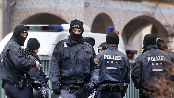 German police in Frankfurt, Germany (File) - Sputnik International