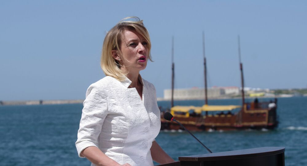 Briefing by Foreign Ministry Official Spokesperson Maria Zakharova in Sevastopol