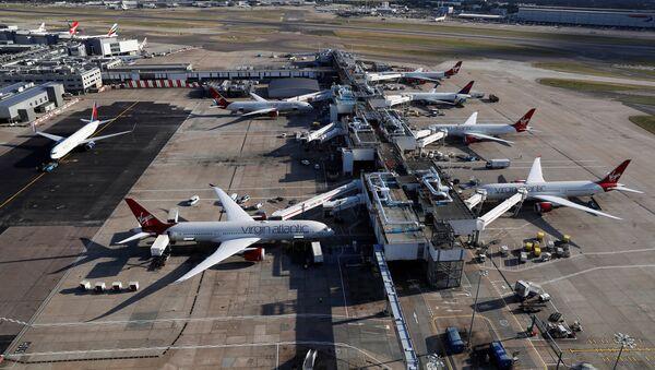 A general view of Terminal 3 at Heathrow Airport near London, Britain October 11, 2016 - Sputnik International