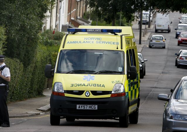 Ambulance in UK (File)