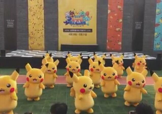 포켓몬 월드페스티벌 2017 in 송도 피카츄 댄스