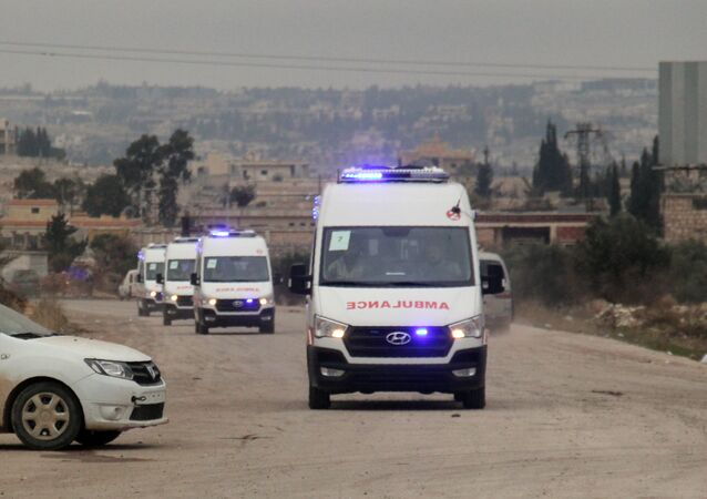Ambulances, Syria