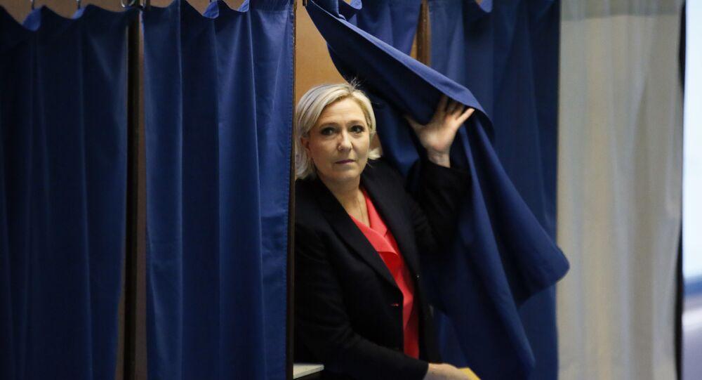 Marine Le Pen. File photo
