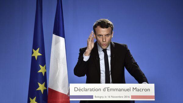 Macron - Sputnik International