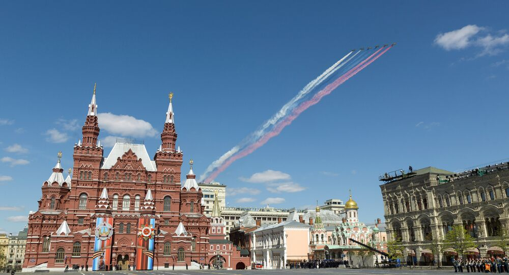Final rehearsal of military parade marking 72nd anniversary of victory in Great Patriotic War
