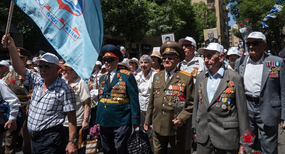 Israel Marks Victory Day by 'Immortal Regiment,' Veterans Marches in Jerusalem