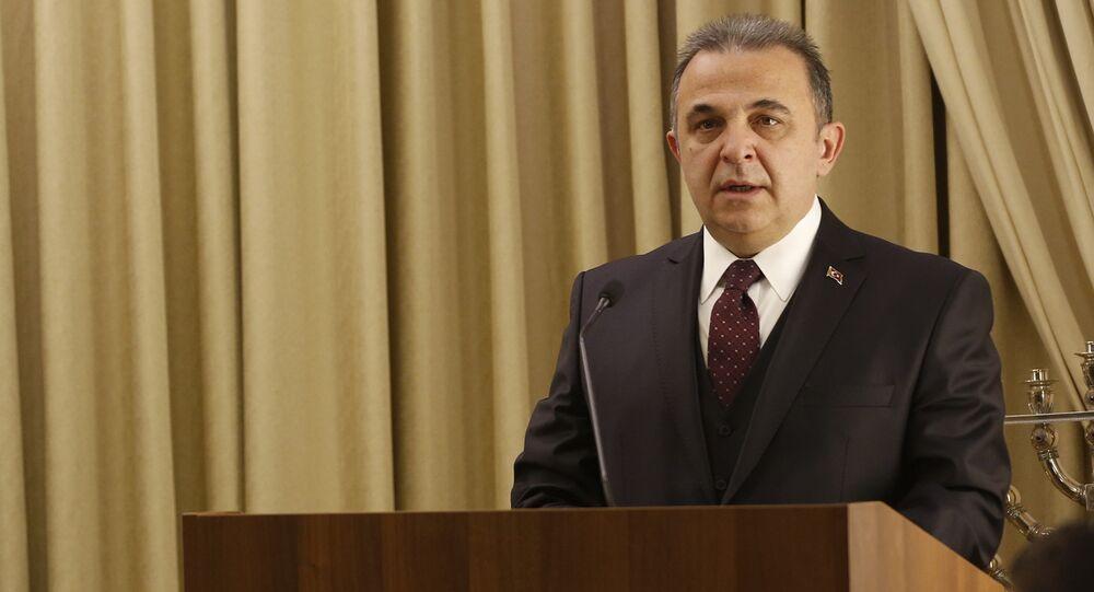 Turkish ambassador to Israel Kemal Okem. (File)