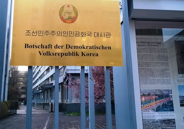 North Korean embassy in Berlin, Germany