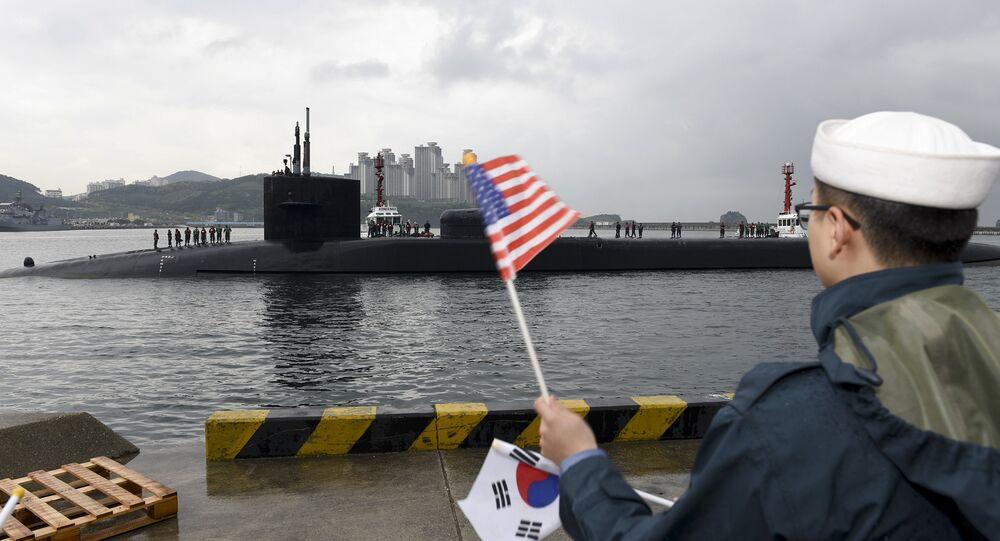 Korea Nuclear Submarine