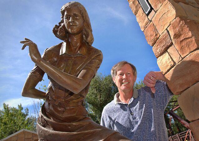 Anne Frank Human Rights Memorial in Boise, Idaho