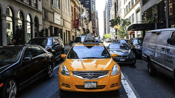 Traffic in US - Sputnik International