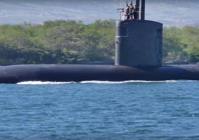 Los Angeles-class Fast Attack Submarine USS Santa Fe (SSN 763)