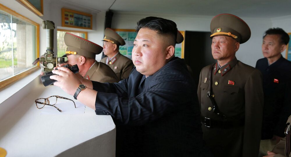 North Korean leader Kim Jong Un. File photo