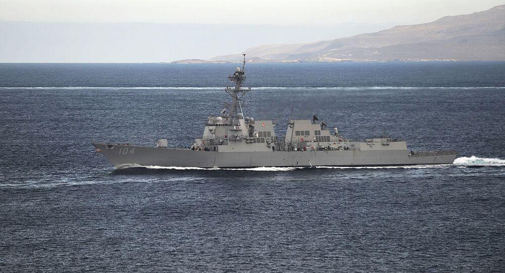 Guided-missile destroyer USS Sterett (DDG 104) (File)