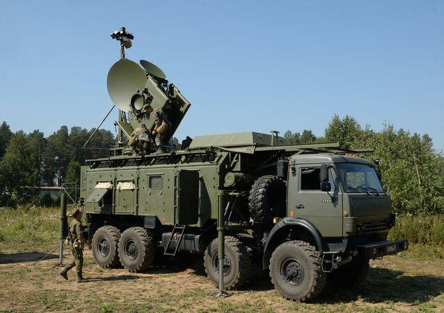 The Krasukha-4 electronic warfare system