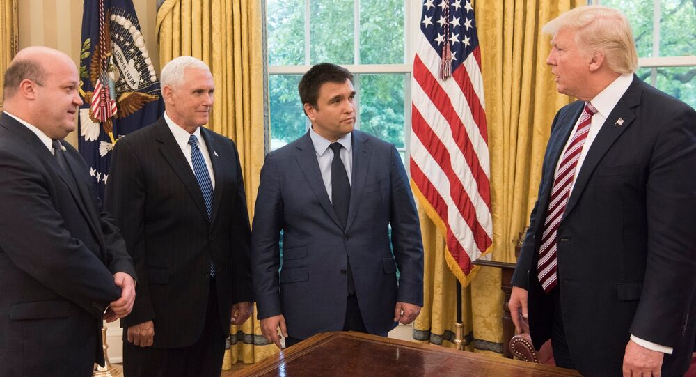 Klimkin's visit to Washington to meet Trump & Pence