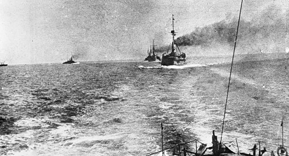 Warships pf the Russian Navy's Black Sea Fleet during World War One