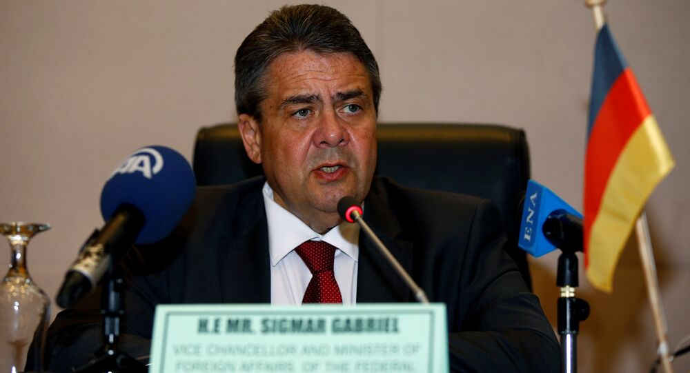 German Foreign Minister Sigmar Gabriel (File)