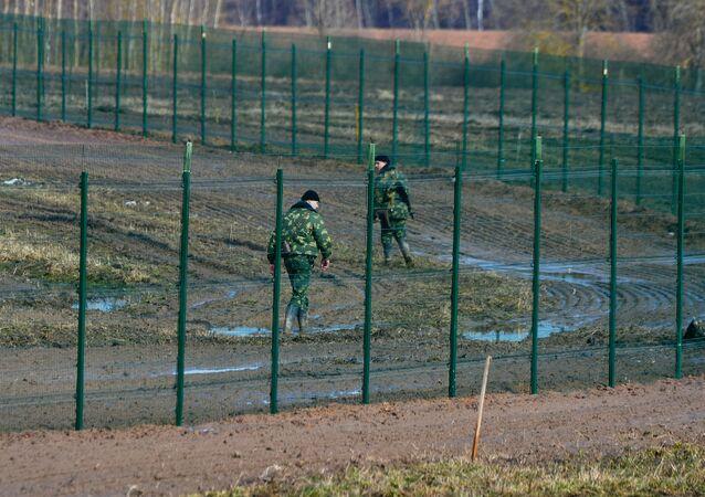 Belarusian-Latvian border