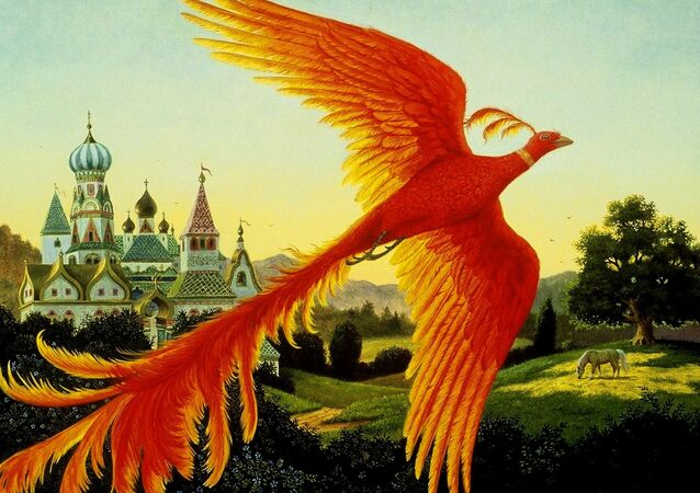 Firebird of Slavic Folklore