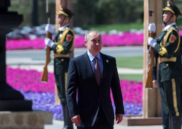 Russian President Vladimir Putin visits China. Day Two