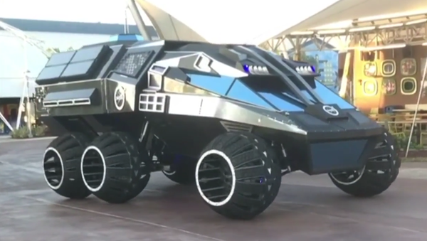 NASA: NEW 6-Wheeled Mars Rover Concept Vehicle Unveiling To The Public - Sputnik International