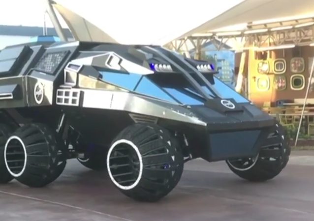 NASA: NEW 6-Wheeled Mars Rover Concept Vehicle Unveiling To The Public