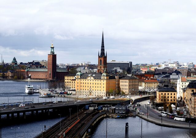 A general view of Stockholm, Sweden, May 8, 2017.