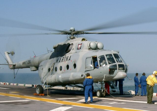 Mexican Navy Mi-8 helicopter